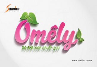 Thiết kế logo quán trà sữa Omely
