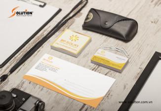 Thiết kế bộ nhận diện thương hiệu Bắc Phương Solar