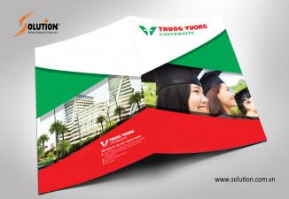 Thiết kế bộ nhận diện thương hiệu trường đại học Trưng Vương