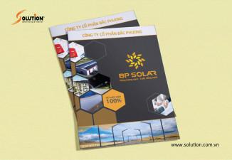 Thiết kế Brochure Công ty CP Bắc Phương