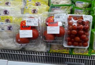 Thiết kế tem nhãn phụ thông minh nhận biết thực phẩm sạch