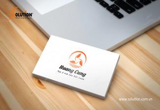 Thiết kế bộ nhận diện thương hiệu quán trà sữa Huang Cung