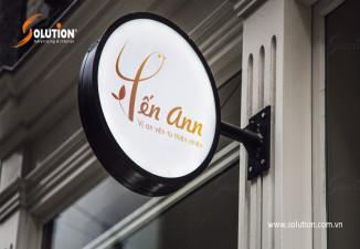 Thiết kế biển quảng cáo cửa hàng Yến Ann
