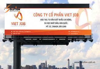 Thiết kế biển quảng cáo công ty Viet Job