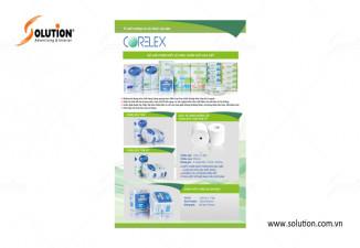 Thiết kế tờ rơi flyer công ty Corelex