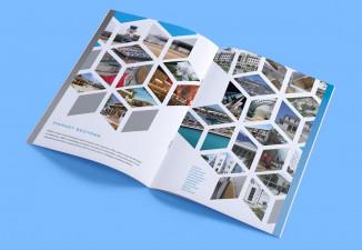 Thiết kế catalogue công ty xây dựng chuyên nghiệp