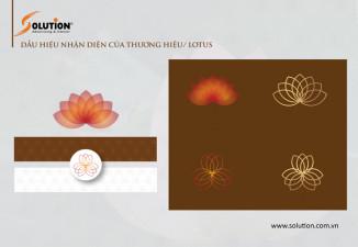 Thiết kế hệ thống nhận diện thương hiệu Cham Spa