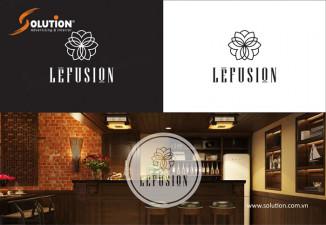 Thiết kế bộ nhận diện thương hiệu nhà hàng LeFusion