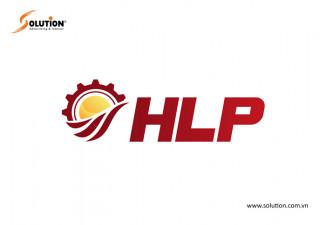 Thiết kế logo công ty thiết bị máy và công trình Hải Lâm HLP