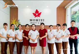 Thiết kế biển quảng cáo Spa Momizi
