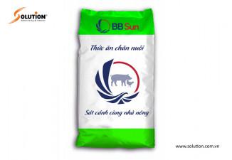 Thiết kế bao bì thức ăn chăn nuôi BB Sun