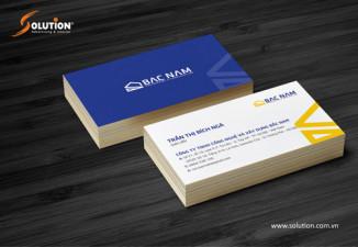 Thiết kế bộ nhận diện thương hiệu công ty xây dựng Bắc Nam
