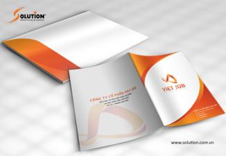 Thiết kế bộ nhận diện công ty xuất khẩu lao động Viet Job