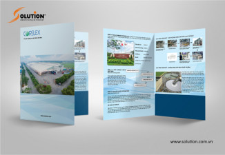 Thiết kế kẹp file kẹp tài liệu folder công ty Corelex