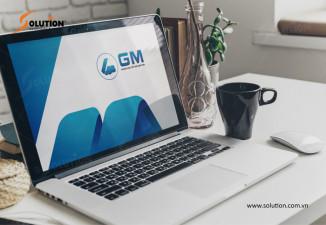 Thiết kế logo công ty xây dựng GM