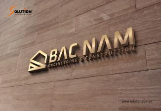 Thiết kế logo công ty xây dựng Bắc Nam