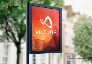 Thiết kế logo công ty xuất khẩu lao động Nhật Bản Viet Job