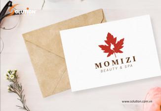 Thiết kế logo Spa Momizi – Cảm hứng bất tận