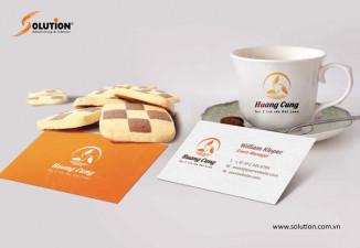 Thiết kế logo quán trà sữa Huang Cung