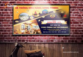 Thiết kế poster nhà hàng quán ăn đẹp tuyệt hảo