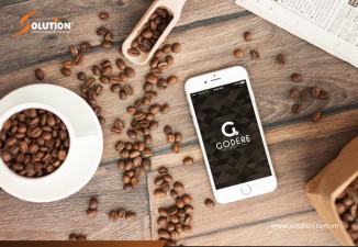 Thiết kế logo thương hiệu Cafe GODERE