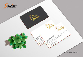 Thiết kế bộ nhận diện công ty vàng bạc Văn Ngân Jewelry