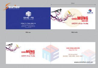 Thiết kế thiệp chúc mừng năm mới công ty SME 79