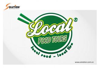 THIẾT KẾ LOGO HÀ NỘI LOCAL FOOD TOURS (DU LỊCH VIỆT)