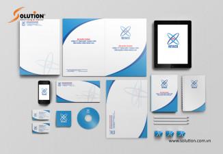 Thiết kế bộ nhận diện công ty Công nghệ cao HiTACO Bộ Quốc Phòng