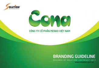 CONA - Thay đổi hệ thống nhận diện thương hiệu & bổ sung sản phẩm mới
