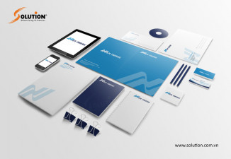 Thiết kế bộ nhận dạng thương hiệu công ty bao bì Năm Thông