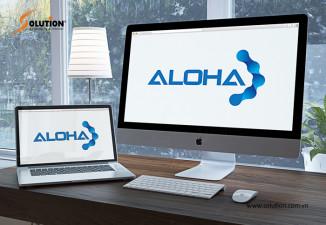 Thiết kế bộ nhận dạng thương hiệu công ty công nghệ ALOHA Hà Tĩnh