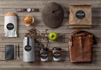 Mẫu thiết kế bao bì túi, hộp đựng café đẹp, phong cách mới