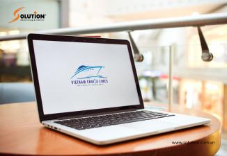 Thiết kế logo công ty du lịch VIETNAM CRUISE LINE