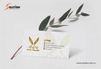 Thiết kế logo salon tóc BOB HAIR tuyệt đẹp tại Hà Nội