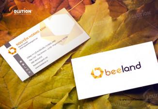 Thiết kế logo công ty bất động sản BeeLand
