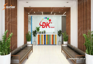 Thiết kế Và Thi Công Nội Thất Văn Phòng Công Ty Sơn DK