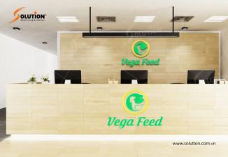 Thiết kế logo sản phẩm thức ăn chăn nuôi Vega Feed