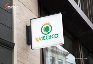 Thiết kế biển quảng cáo đẹp Ratechco
