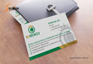Thiết kế logo Nông nghiệp Hoàng gia Ratechco