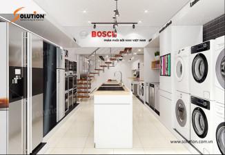 Mẫu showroom thiết bị gia dụng BOSCH Quảng Ninh HMH
