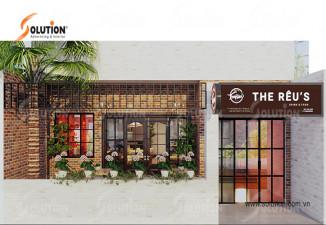 Thiết kế nội thất quán cafe The Reus Coffee