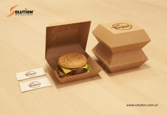 Thiết kế hộp đựng đồ ăn nhanh Fast Food The Rêu