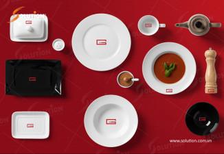 Bộ nhận diện đầy đủ nhất cho quán cà phê G66 Hà Trung Hà Nội