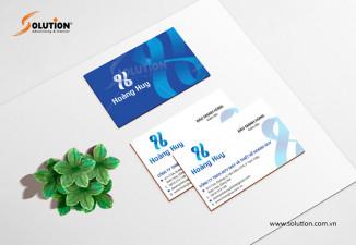 Thiết kế logo công ty may Hoàng Huy tại Đồng Nai