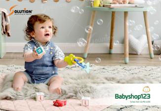 Thiết kế logo siêu thị mẹ và bé Babyshop123