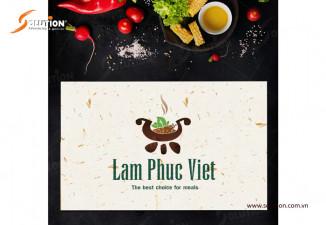 Slogan công ty suất ăn công nghiệp Lâm Phúc Việt tại Bắc Ninh