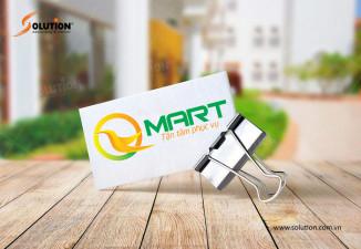 Thiết kế logo siêu thị Qmart