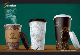 Mẫu bao bì tem nhãn ly trà sữa mới nhất TocoToco