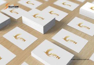 Bộ nhận diện công ty xuất khẩu lao động Nhật Bản, đào tạo nhật ngữ IFN